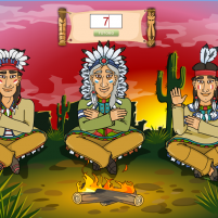 Как считают индейцы