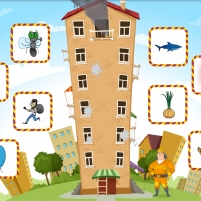 Игра «Пример. Интерактивная игра для обследования звуко-буквенного анализа»