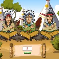 Как вычитают индейцы