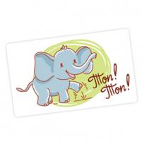 Пример карточки из набора «Ладушки-оладушки»