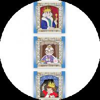 Пример карточек из набора «Королевская башня»