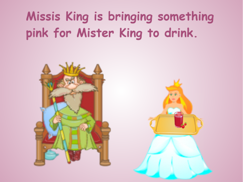 «Missis King», бесплатное пособие для английского языка