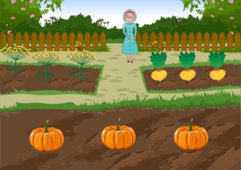 «Бабушкин огород», бесплатное пособие для математики, счета