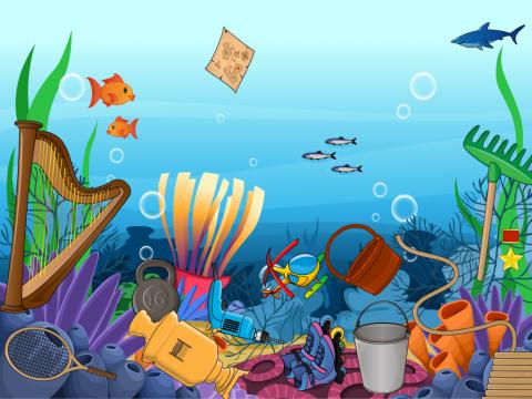 «Чистое море», бесплатное пособие для автоматизации звуков
