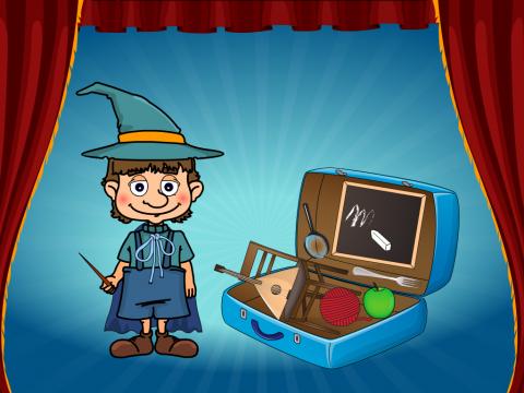 """«""""Что в чемодане у волшебника?""""», бесплатное пособие для автоматизации звуков"""