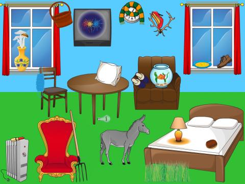 «Что в комнате не так?», бесплатное пособие для логики, мышления, внимания