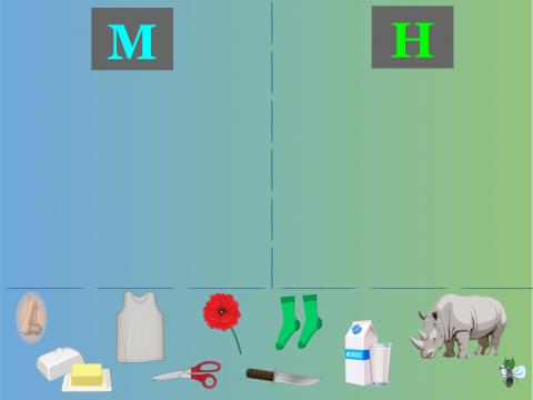 «Что в начале слова: М или Н?», бесплатное пособие для дифференциации звуков