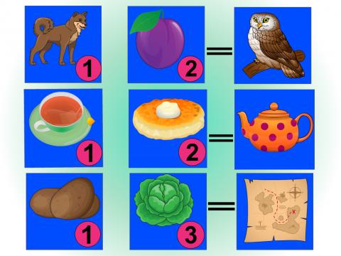 «Игра со слогами», бесплатное пособие для логики, мышления, внимания