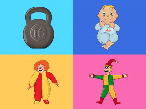 «Игры и игрушки - 3», бесплатное пособие для логики, мышления, внимания