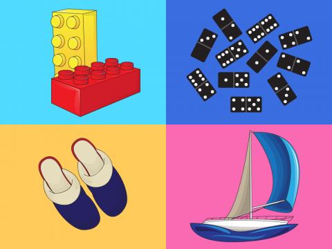 «Игры и игрушки - 4», бесплатное пособие для логики, мышления, внимания