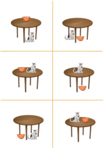 «Киска и миска», бесплатное пособие для автоматизации звуков