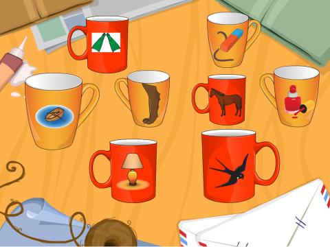 «Кто пил из чашки?», бесплатное пособие для автоматизации звуков