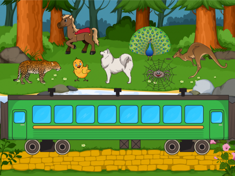 «Кто поедет в поезде», бесплатное пособие для звукового анализа слова