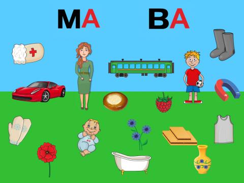 «Начинаем слова », бесплатное пособие для звукового анализа слова