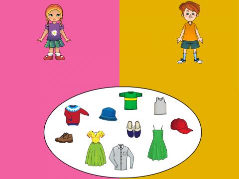 «Одежда,обувь, гол. уборы», бесплатное пособие для лексических тем