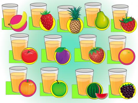 Овощи,ягоды и фрукты-витаминные продукты