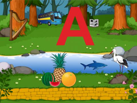 Путешествие буквы А