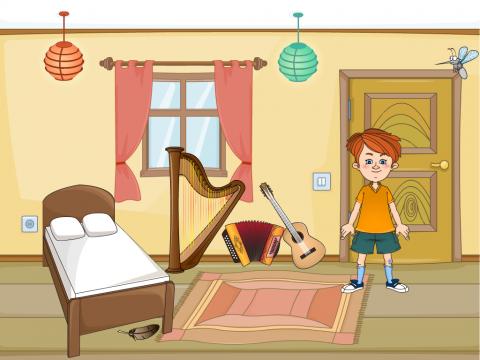 «Рома и комар», бесплатное пособие для автоматизации звуков