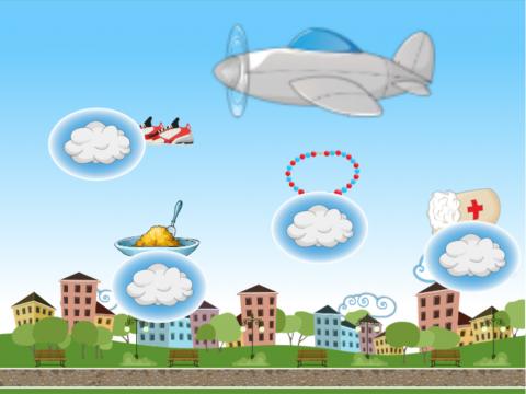 «самолет потерял вещи», бесплатное пособие для автоматизации звуков