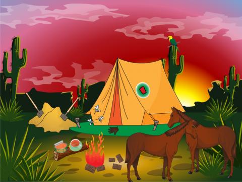 """«Серия """"Рифмы-рифмочки"""". Вот палатка...», бесплатное пособие для грамматических категорий"""