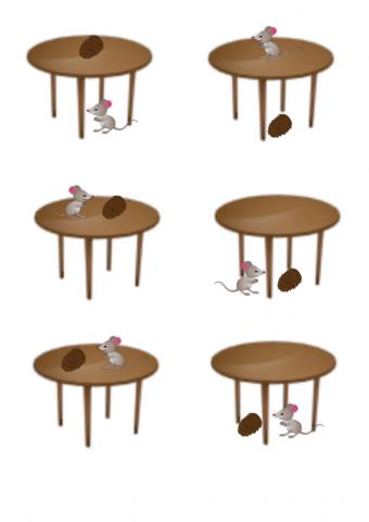 «Шишка и мышка (дифференциация С - Ш). Предлоги  НА, ПОД», бесплатное пособие для дифференциации звуков