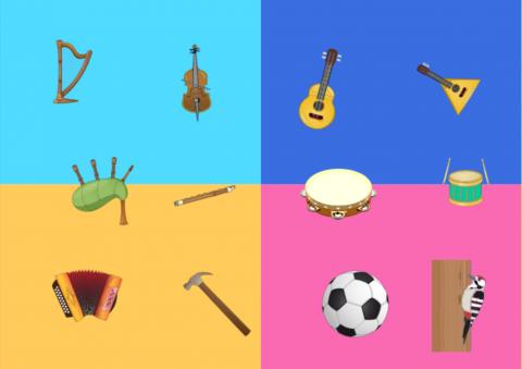 «Угадай мелодию.», бесплатное пособие для дифференциации звуков