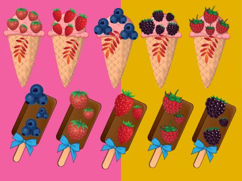 Ягодное Мороженое