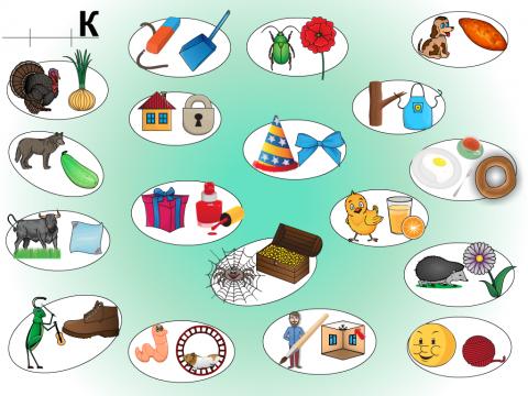 «Звук К в конце слова. Развитие связной речи.», бесплатное пособие для автоматизации звуков