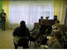 Выступление перед воспитателями ДОО