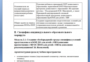 Возможности сочетания федерального компонента и части, реализуемой участниками ООП