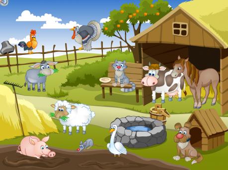 Развивающая игра «Домашние животные»