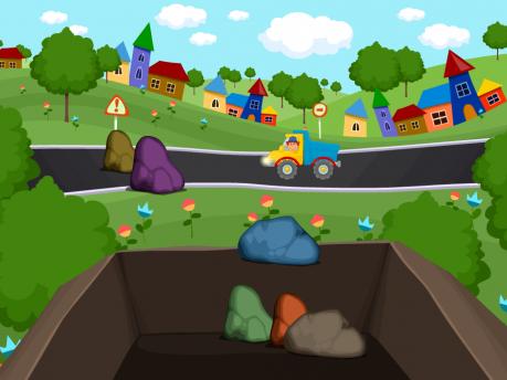 Развивающая игра «Дорожные работы»