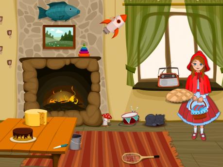 Развивающая игра «Корзинка для бабушки»
