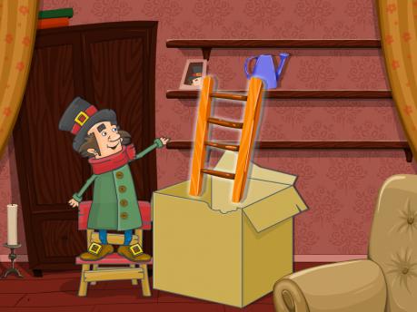 Развивающая игра «Подарок для Плюшкина»