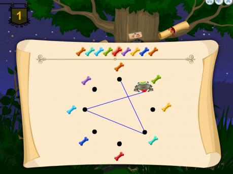 Развивающая игра «Секретная паутина»