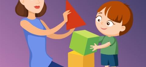 Первые шаги во взаимодействии детей с РАС с окружающим миром