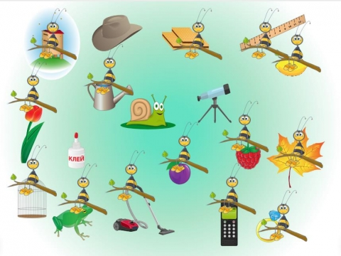 «Автоматизация ЛЬ. Пчёлка посидела и улетела», бесплатное пособие для автоматизации звуков
