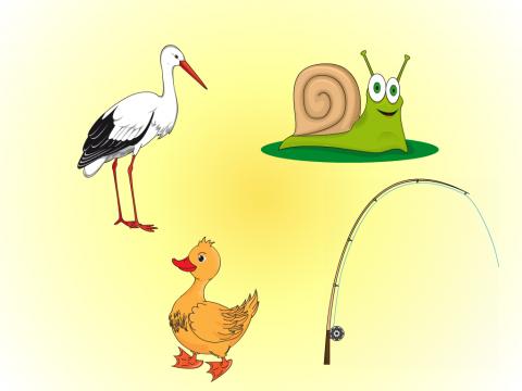 «4 лишний», бесплатное пособие для звукового анализа слова