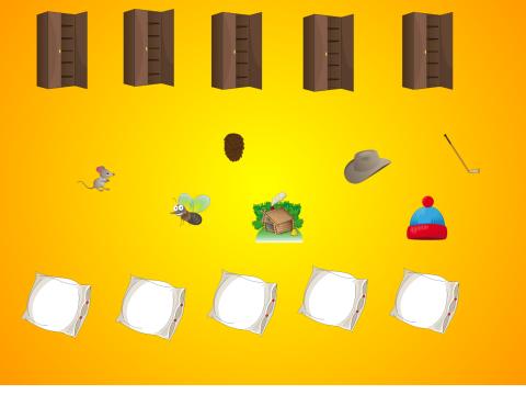 «Что за шкафом, что под подушкой?», бесплатное пособие для автоматизации звуков