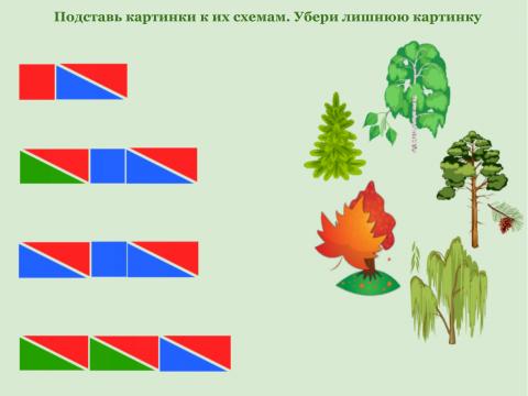 «Деревья в схемах», бесплатное пособие для звукового анализа слова