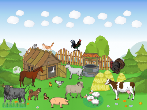 «Домашние животные», бесплатное пособие для лексических тем