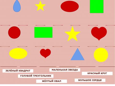 «Какая фигура?», бесплатное пособие для грамматических категорий