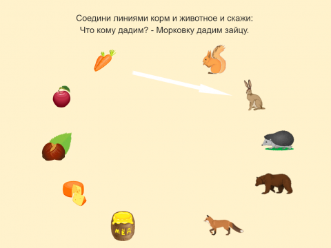 «Лесной пир / Что кому дадим?», бесплатное пособие для грамматических категорий