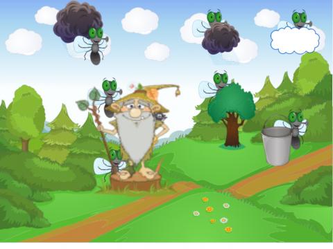 «лесовичок и мухи», бесплатное пособие для автоматизации звуков