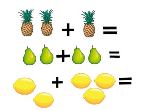 «Наглядные примеры», бесплатное пособие для математики, счета