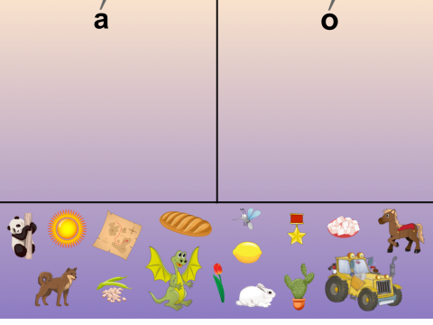 «О или А?», бесплатное пособие для звукового анализа слова