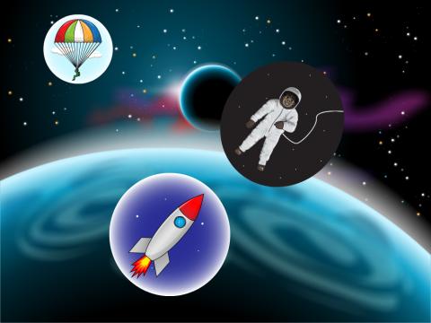 «Покорение космоса», бесплатное пособие для окружающего мира