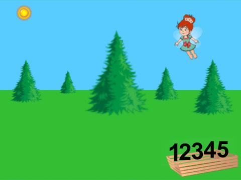 «Помоги лесной фее», бесплатное пособие для математики, счета