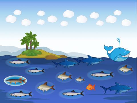 «Рыбы», бесплатное пособие для лексических тем