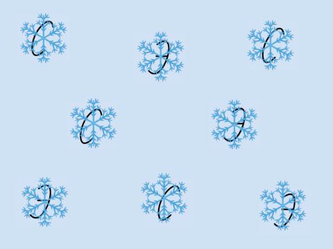 «С  Э  за снежинками», бесплатное пособие для букв, азбуки